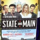 STATE AND MAIN VHS VIDEO MOVIE STARRING ALEC BALDWIN WILLIAM MACY SARAH JESSICA PARKER COMEDY(B43)
