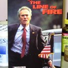 IN THE LINE OF FIRE VHS MOVIE STARRING CLINT EASTWOOD JOHN MALKOVICH RENE RUSSO DRAMA (B43)