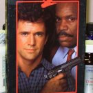 LETHAL WEAPON 2 VHS STARRING MEL GIBSON DANNY GLOVER JOE PESCI ACTION COMEDY (B49)