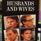 HUSBANDS AND WIVES VHS STARRING WOODY ALLEN BLYTHE DANNER JUDY DAVIS MIA FARROW COMEDY (B47)