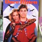 ONCE BITTEN VHS STARRING LAUREN HUTTON JIM CARREY CLEAVON LITTLE COMEDY (B48)