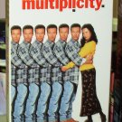 MULTIPLICITY VHS STARRING MICHAEL KEATON ANDIE MACDOWELL COMEDY (B48)