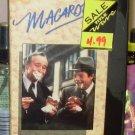 MACARONI VHS STARRING JACK LEMMON MARCELLO MASTROIANNI COMEDY (B46)