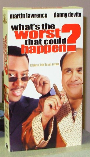 whats the worst that could happen vhs starring martin