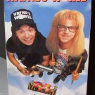 WAYNES WORLD VHS MOVIE STARRING MIKE MYERS DANA CARVEY ROB LOWE COMEDY (B53)