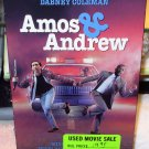 AMOS AND ANDREW VHS MOVIE STARRING NICHOLAS CAGE SAMUEL L JACKSON DABNEY COLEMAN COMEDY (B53)