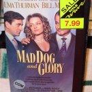 MAD DOG AND GLORY VHS MOVIE STARRING ROBERT DENIRO UMA THURMAN BILL MURRAY DRAMA (B52)
