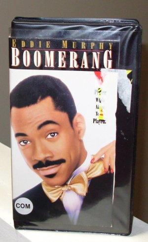 BOOMERANG VHS MOVIE STARRING EDDIE MURPHY HALLE BERRY ROBIN GIVENS EARTHA KITT COMEDY (B52)