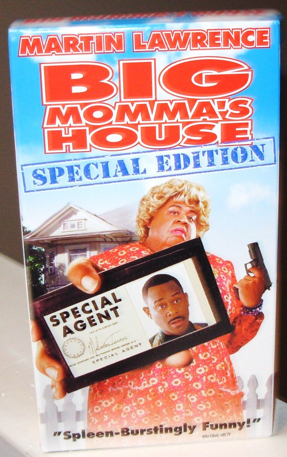 big mommas house special ed vhs movie starring martin