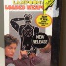 LOADED WEAPON NATIONAL LAMPOON STARRING EMILIO ESTEVEZ SAMUEL L JACKSON COMEDY ACTION VHS VIDEO B60