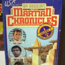 THE MARTIAN CHRONICLES VOL I AND II STARRING ROCK HUDSON ORIGINAL RAY BRADBURYS SCI FI VHS VIDEO B51