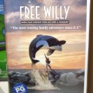 FREE WILLY WB FAMILY ENTERTAINMENT VHS VIDEO RATED PG (B51)