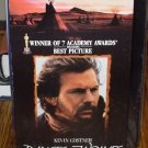 DANCES WITH WOLVES VHS VIDEO STARRING KEVIN COSTNER HISTORICAL DRAMA  (B52)