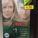 HARD PROMISES VHS VIDEO STARRING SISSY SPACEK WILLIAM PETERSEN COMEDY (B52)