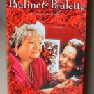 PAULINE AND PAULETTE VHS VIDEO STARRING DORA VAN DER GROEN, ANN PETERSEN COMEDY (B52)