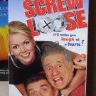 SCREW LOOSE VHS VIDEO STARRING MEL BROOKS EZIO GREGGIO COMEDY (B52)