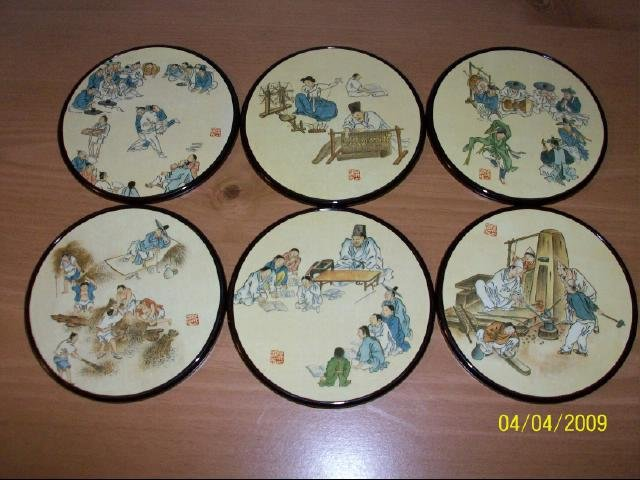 Korean Picture Coasters