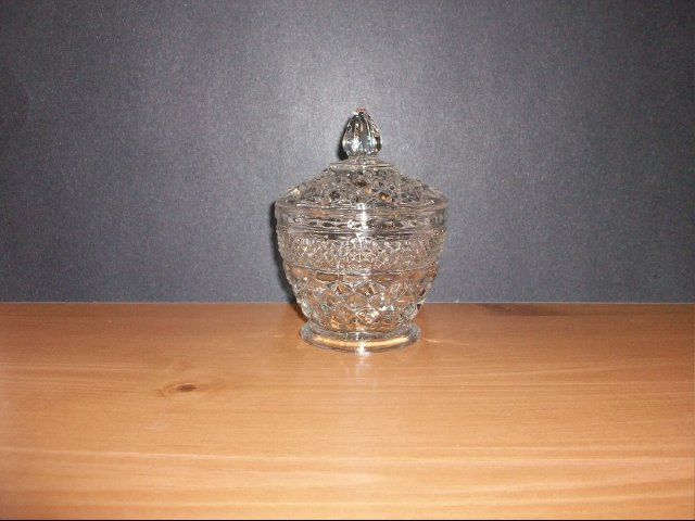 Crystal Glass Bowl With Lid
