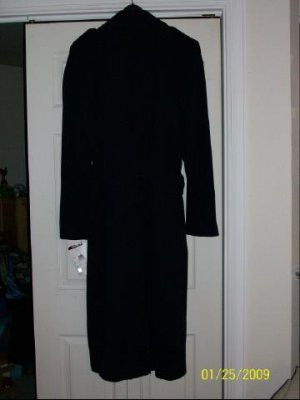 Newport Harbor Career Apparel Trench Coat - Size 40L