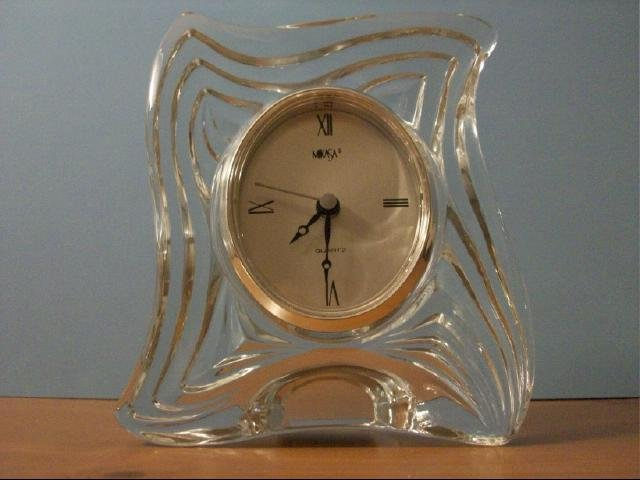 Mikasa Crystal Emotion Tabletop Clock