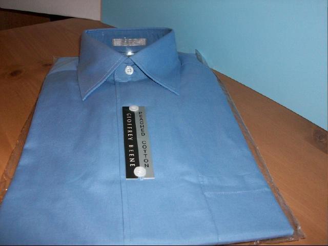 Men's Geoffrey Beene Long Sleeve Dress Shirt - Size M 15-15 1/2