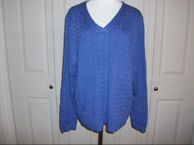 Multiplicity V-Neck Sweater - Size 1X