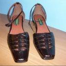Fayiou Ankle Strap Brown Pumps - Size 8 1/2