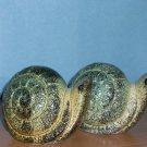 Vintage Green Snails Salt & Pepper Shakers
