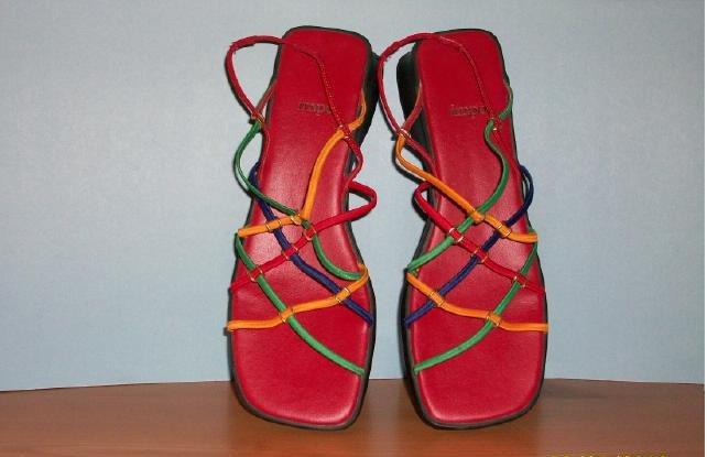 impo Multi-Colored Sandal - Size 8 1/2 M