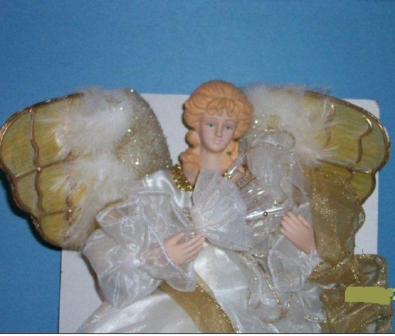 "Holiday Style 14"" Fiber Optic Angel"