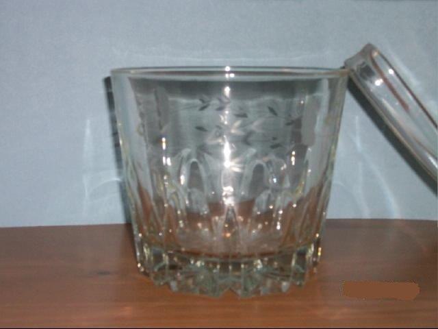 Crystal Glass Ice Bucket
