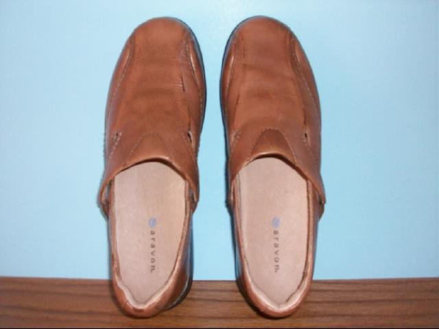 Women's Aravon Casual Brown Slip on Shoes - Size 9B