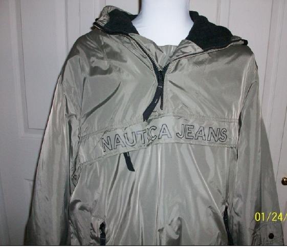 Men's Nautica Jean Co. Wind and Rain Jacket - Size XL