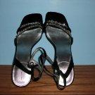 Bandolino Black Ankle Strap Sandals - Size 8 1/2 M
