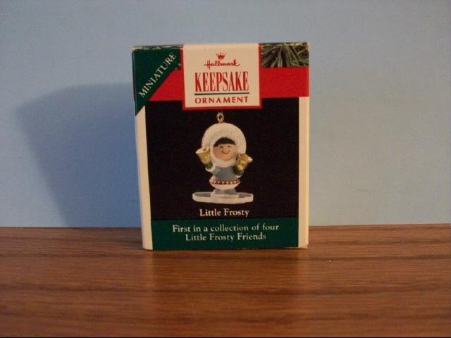 Hallmark Mini Keepsake Ornament - Little Frosty