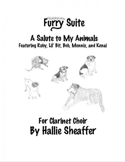 Furry Suite - Hallie Sheaffer Clarinet Choir