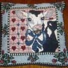 Country Cow Decorative Throw Accent Pillow Home Decor
