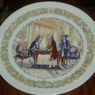 1973 D'Arceau Limoges Secret Contract Collector Plate