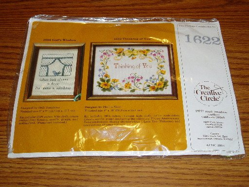 1983 The Creative Circle #1622 Cross Stitch Kit NIP