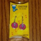 Chester the Squirrel A Smirk Is Still A Smile Earrings