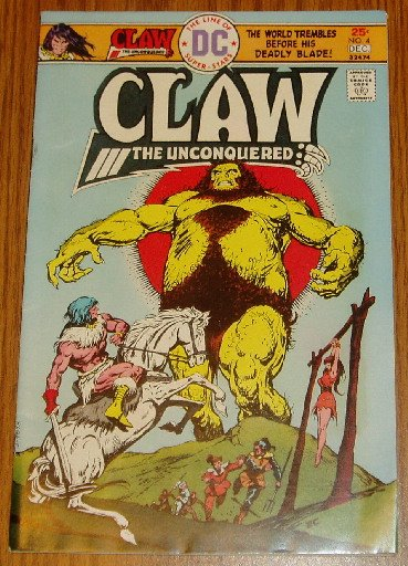 DC Comics Claw the Unconquered Issue #4 Nov-Dec 1975