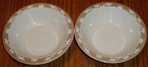 Set of 2 Vintage Syracuse China Bowls Restaurant Ware