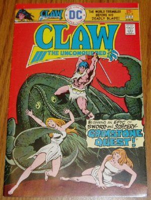 DC Comics Claw the Unconquered Issue #5 Jan-Feb 1976