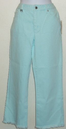 NWT Michael Kors Denim Capris Cropped Pants Size 6