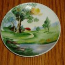 Ucagco Japan Miniature Painted Decorative Plate
