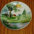 Ucagco Japan Miniature Painted Decorative Plate