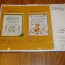1981 The Creative Circle Cross Stitch Kit #1605 Sampler