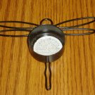 Black Metal Dragonfly Tealight Candle Holder
