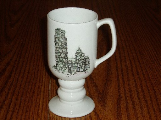 1965 Kaysons China Continental Cup/Mug Tower of Pisa