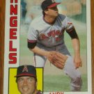 1984 MLB Topps Card #719 Andy Hassler California Angels